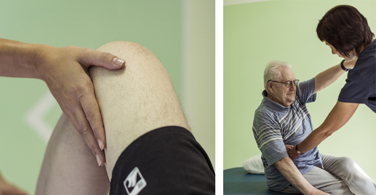 Physiotherapie in der Fortuna Klinik